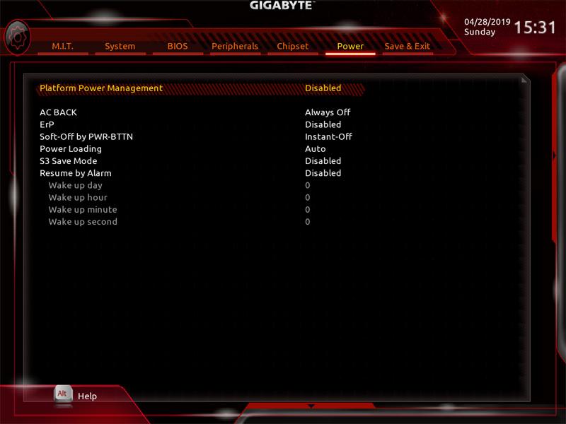 Gigabyte X299 AORUS Master BIOS 7