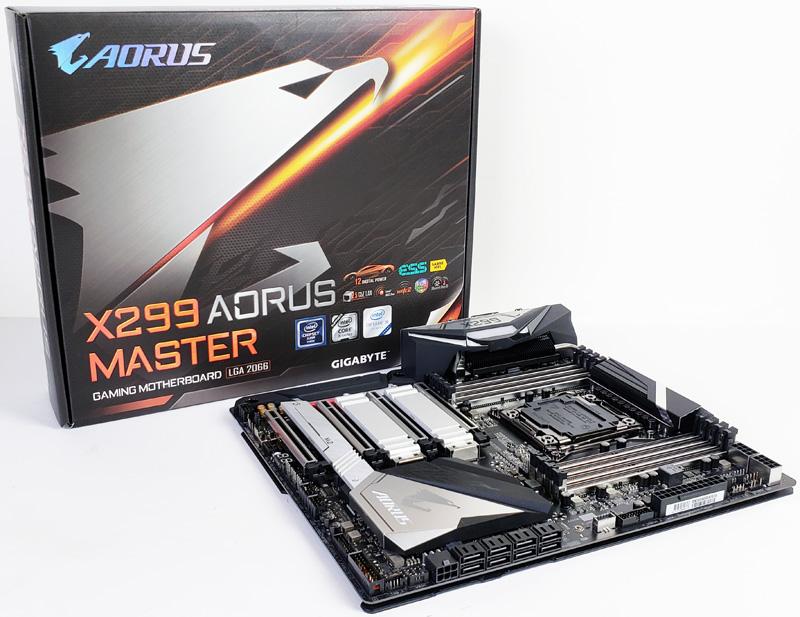 Gigabyte X299 AORUS Master Motherboard Review - ServeTheHome