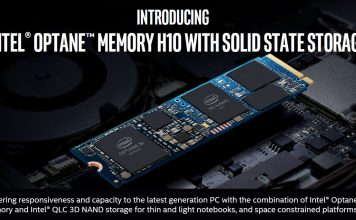 Intel Optane Memory H10 With QLC