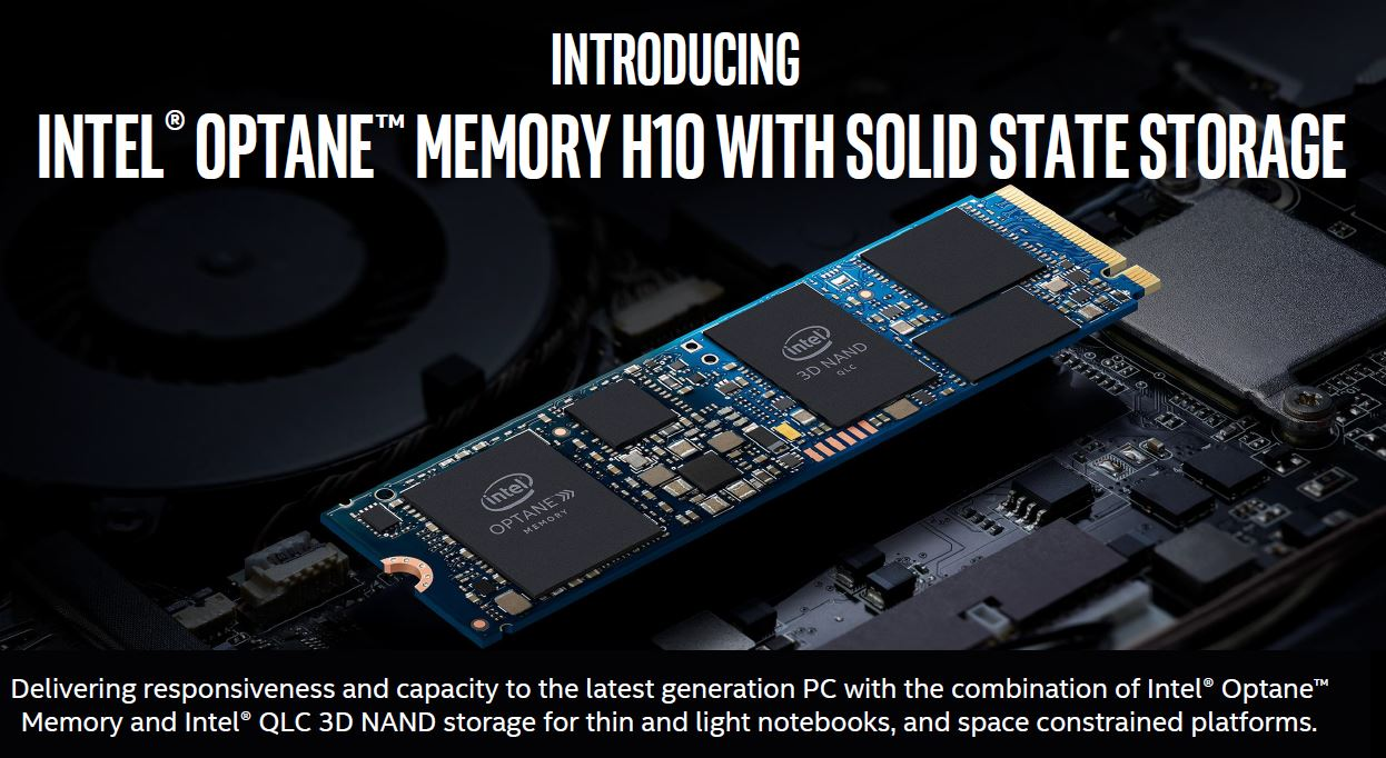 Intel Optane Memory H10 with Solid State Storage Launched - STH