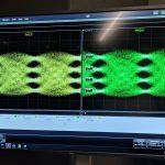 Intel Silicon Photonics Transceiver Eyes
