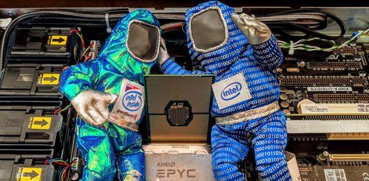 Intel Xeon CLX U Series AMD EPYC Competition Cover