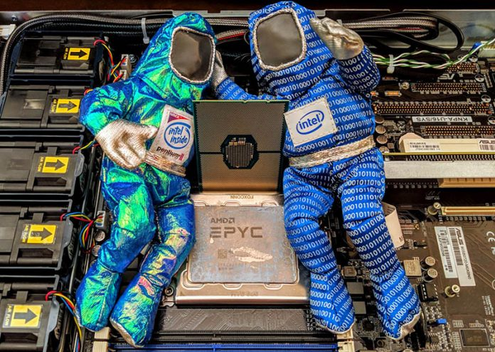 Intel Xeon CLX U Series AMD EPYC Competition Cover