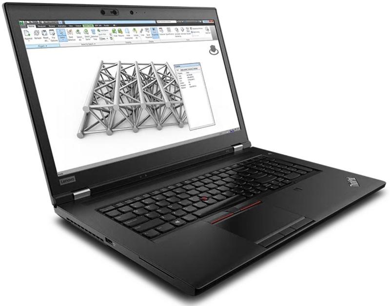 Lenovo ThinkPad P72 Angle View