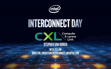 Stephen Van Doren CXL Interconnect Cover