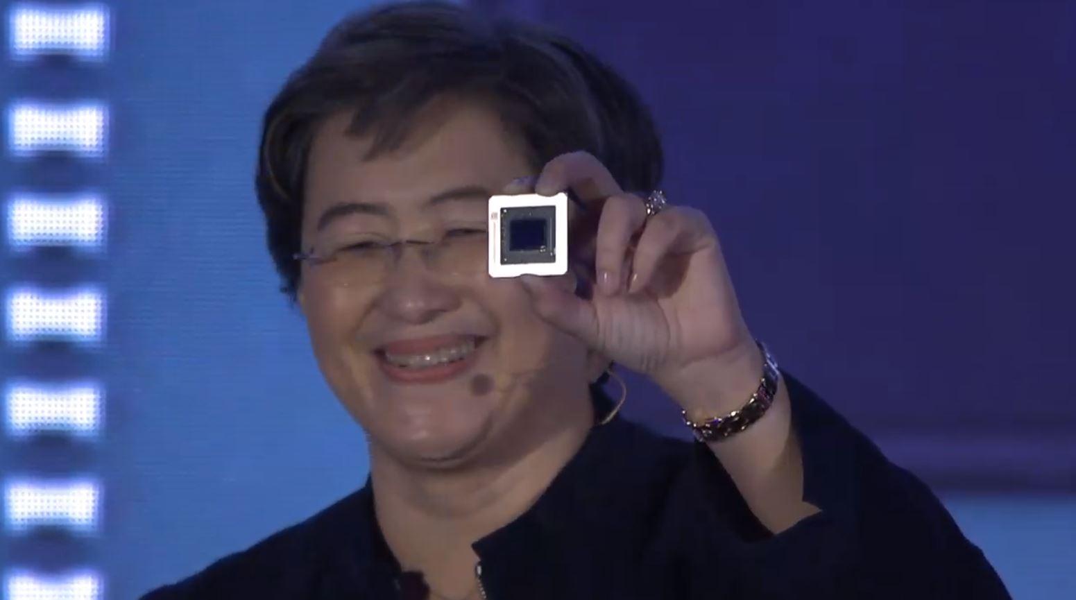 AMD Radeon RX 5000 GPU Shot