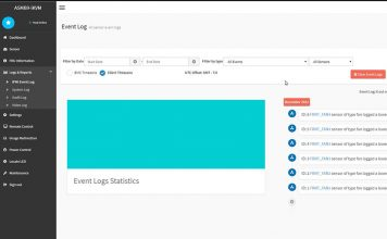 ASUS ASMB9 IKVM Server Management Event Log