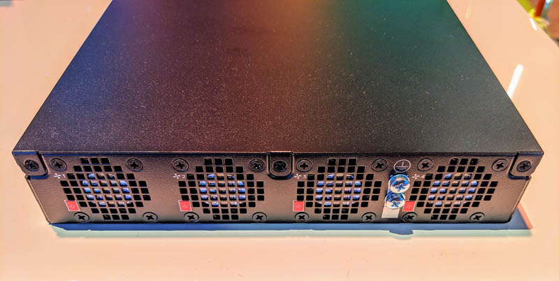 Dell EMC PowerSwitch S5212F ON Rear
