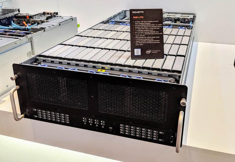 Gigabyte S461 3T0 60 Bay 4U Computex 2019