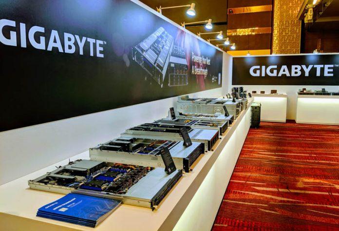 Gigabyte Server At Computex 2019