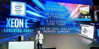 Intel Xeon E 2200 Launch Cover