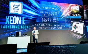 Intel Xeon E 2200 Launch Cover