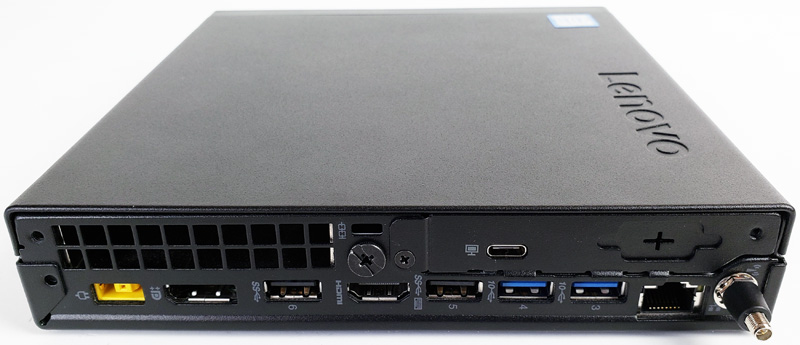 Lenovo ThinkCentre M720q Tiny Back