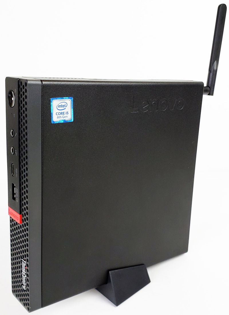 Lenovo ThinkCentre M720q Tiny On Stand