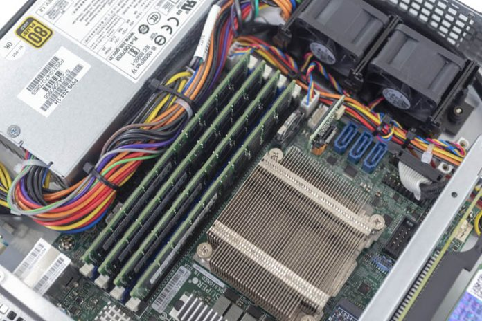 Supermicro SYS 5019D FTN4 Internal Memory Configured