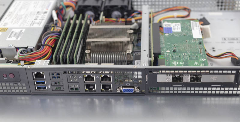 Supermicro SYS 5019D FTN4 Rear IO Configured