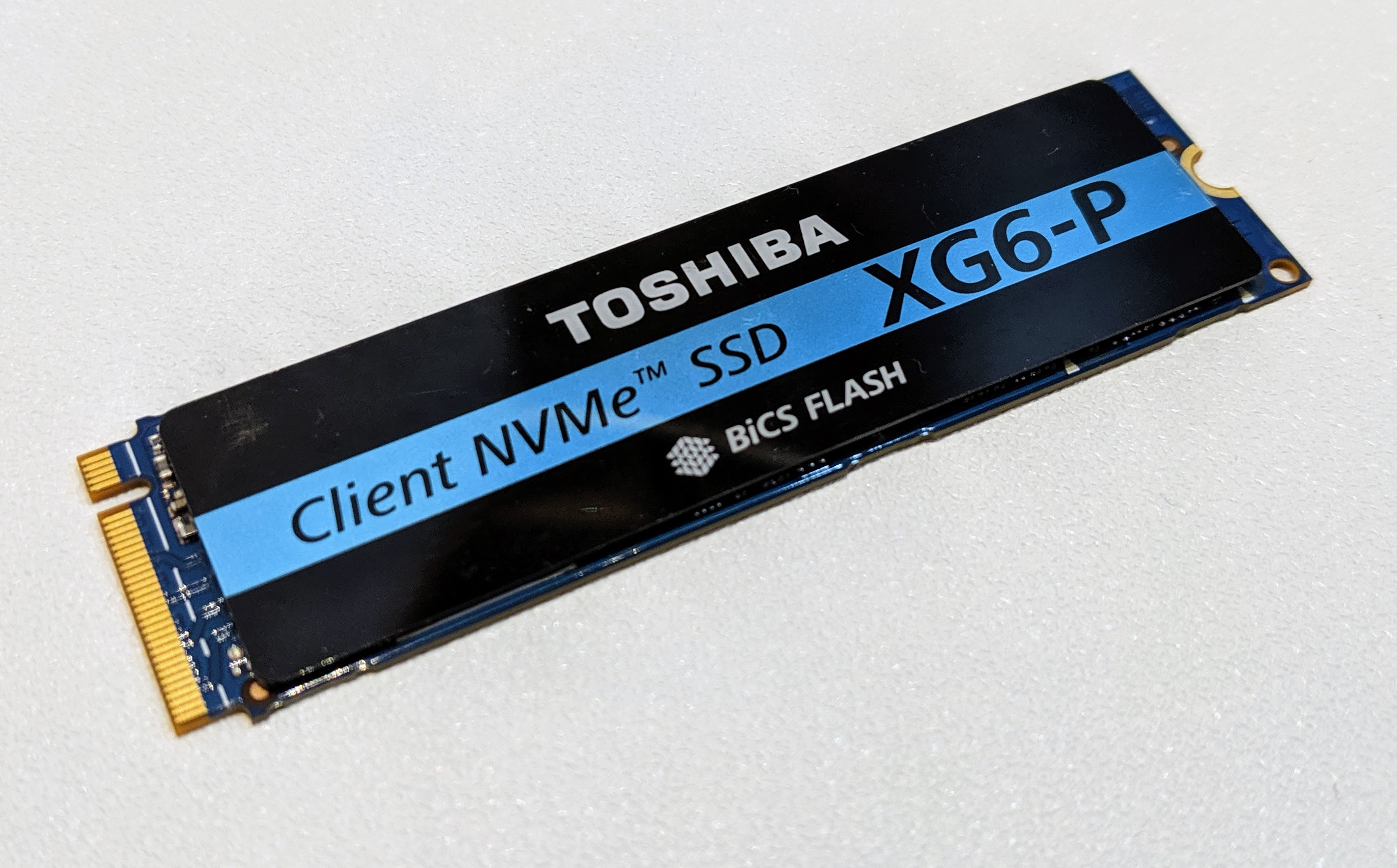 Toshiba Memory XG6 P At Computex 2019