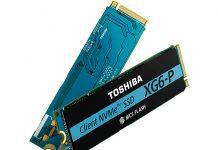Toshiba Memory XG6 P Cover