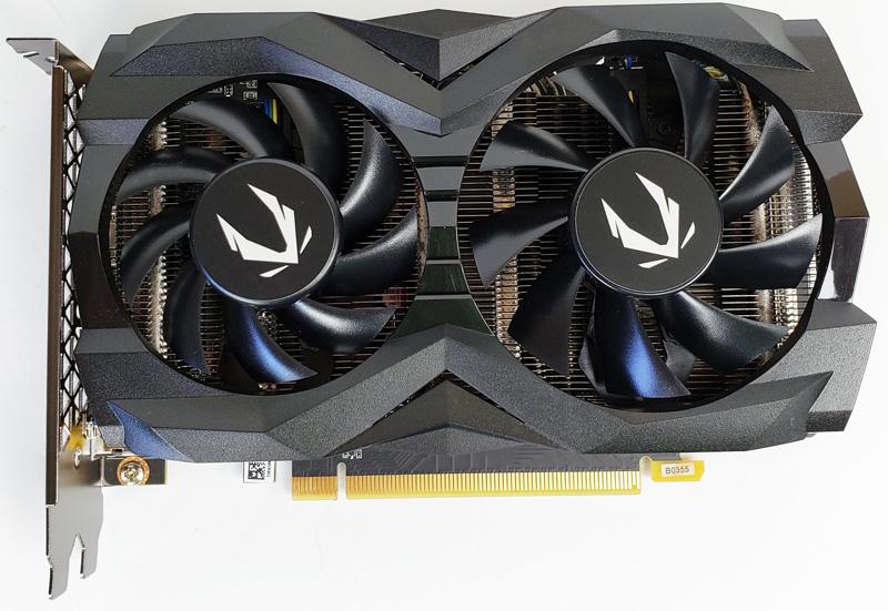 ZOTAC GTX1660 6GB Front