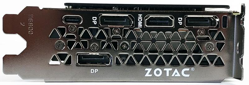 ZOTAC RTX 2080 Ti IO Ports