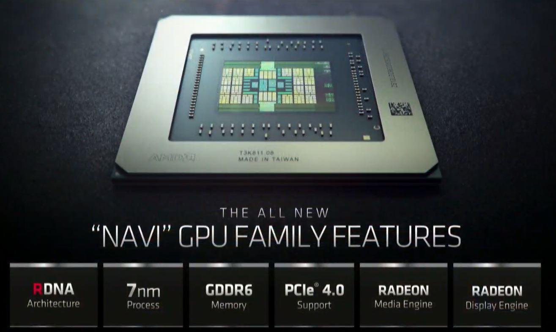 AMD Radeon NAVI Family