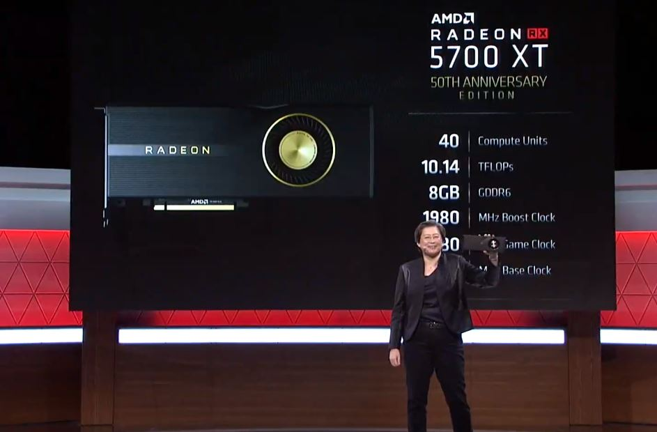 AMD Radeon RX 5700XT Series 50th Specs E3