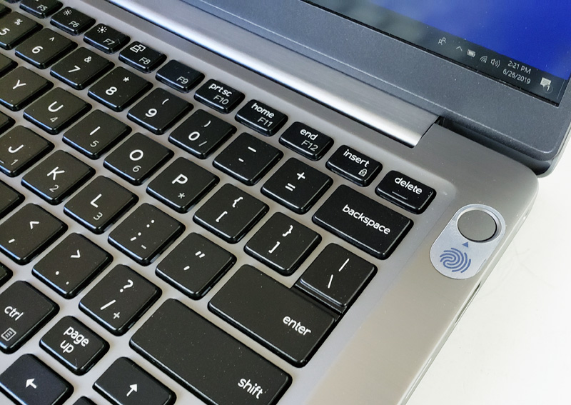 Dell Latitude 7300 Power Button Fingerprint Reader