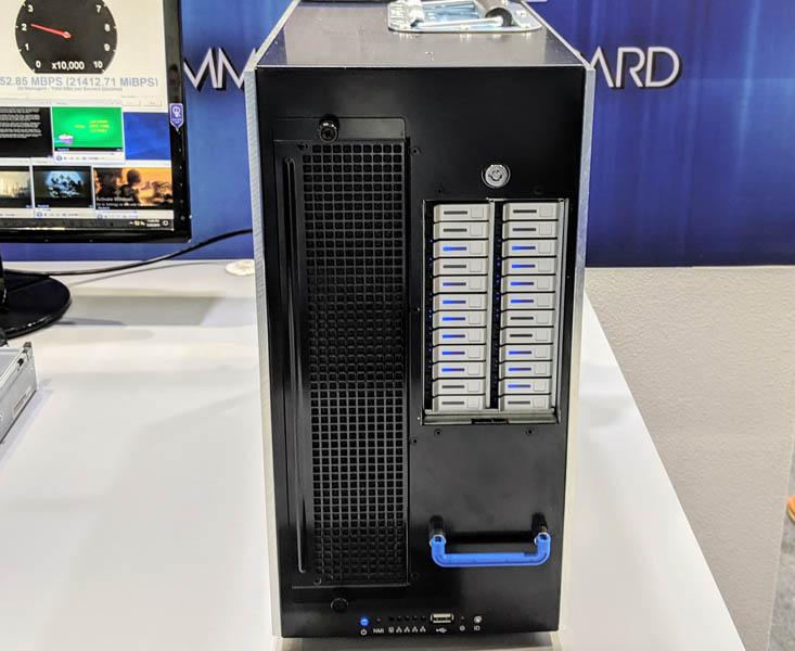 EchoStreams Pedestal Server Front