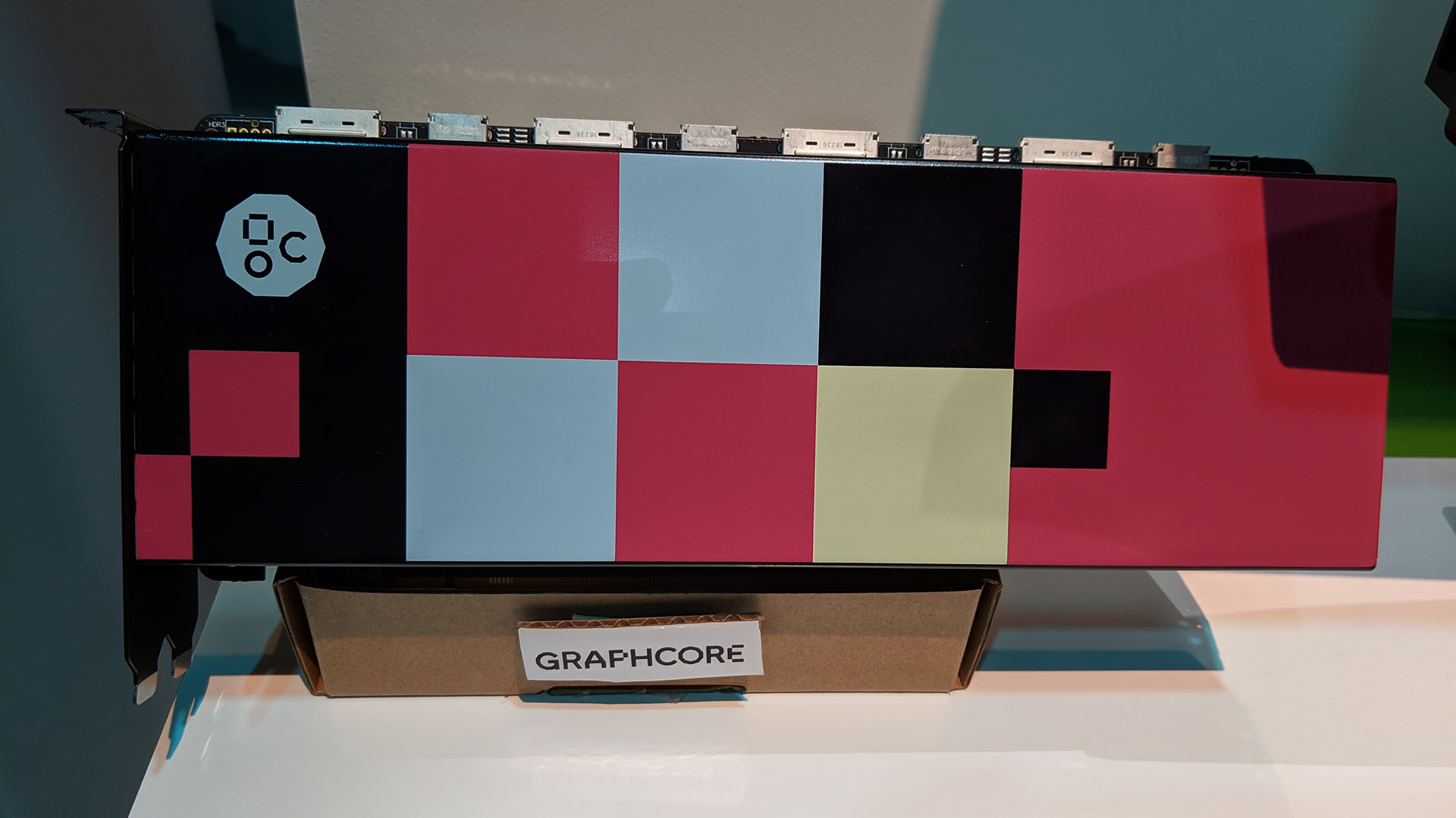 Graphcore At DTW On Cardboard Stand
