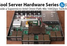 Inside A Supermicro Omni Path Switch Web Cover