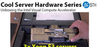 Intel VCA Unboxing Cover
