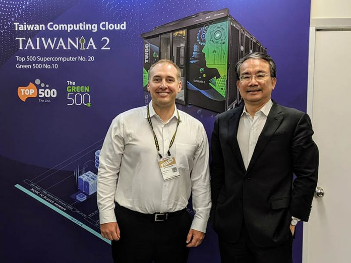 Patrick And Robert Chin ASUS Server BU GM At Computex 2019
