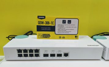 QNAP QSW 308 1C At Computex 2019