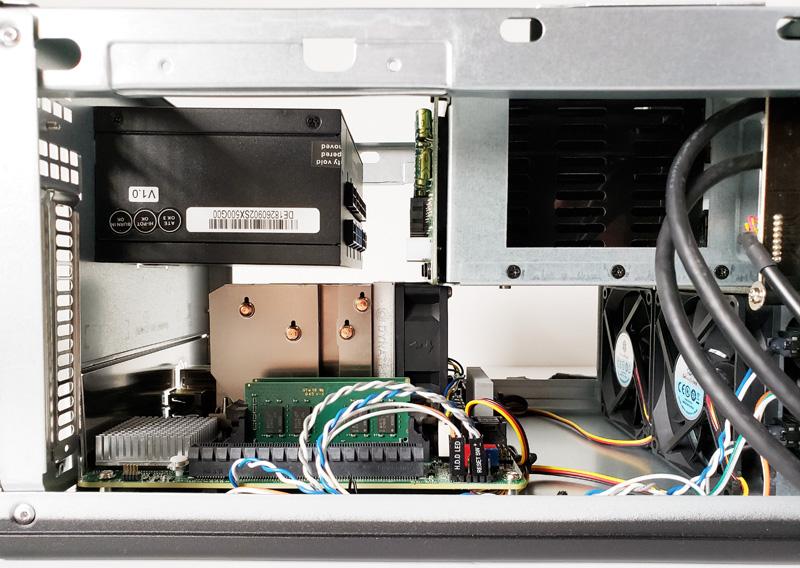 SilverStone CS280 PSU Installed 2