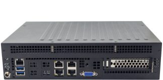 Supermicro AS E301 9D 8CN4 Rear