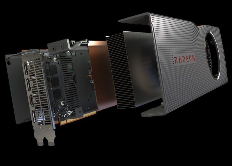 AMD Radeon Navi Cooler Decompose