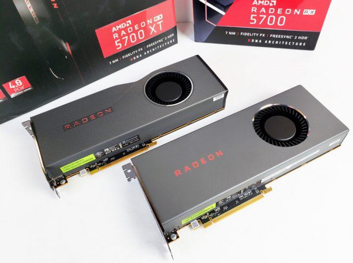 AMD Radeon RX 5700 XT And Radeon RX 5700