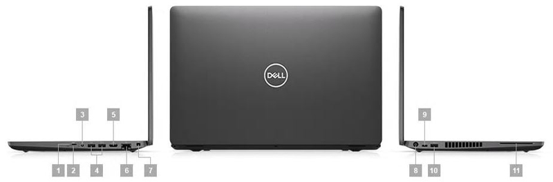 Dell Precision 3541 IO Ports