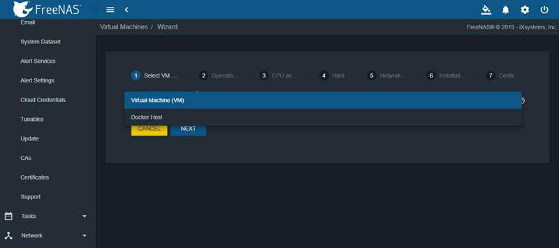 FreeNAS Mini XL Plus Management VM Or Docker Host