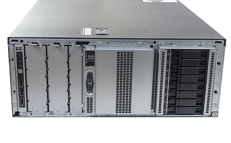 HPE ProLiant ML350 Gen10 Front Storage