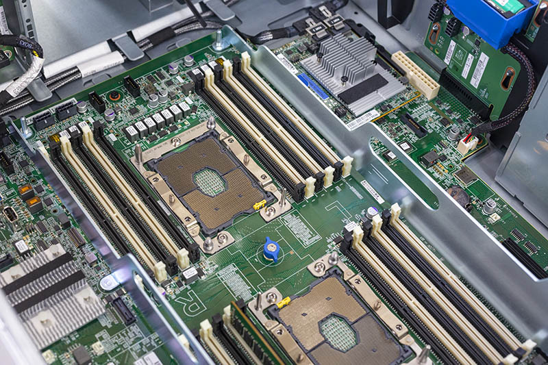 HPE ProLiant ML350 Gen10 Intel Xeon Scalable Sockets And DIMM Slots