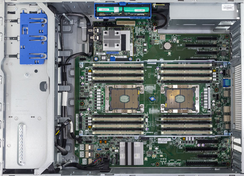 HPE ProLiant ML350 Gen10 Interior Overview
