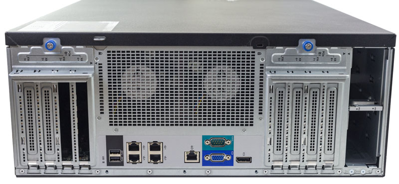 HPE ProLiant ML350 Gen10 Rear IO