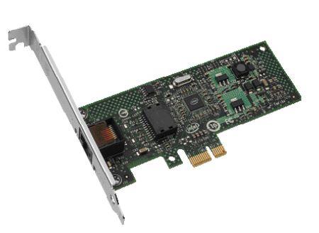 Intel Gigabit CT Desktop Adapter Stock Photo