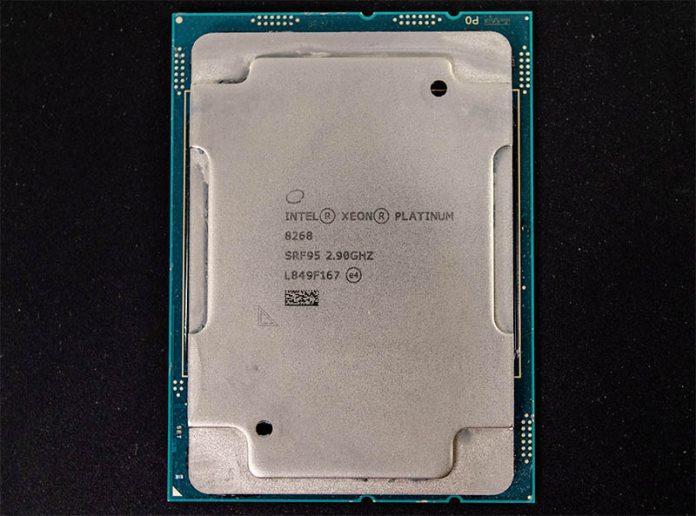 Intel Xeon Platinum 8268 Cover