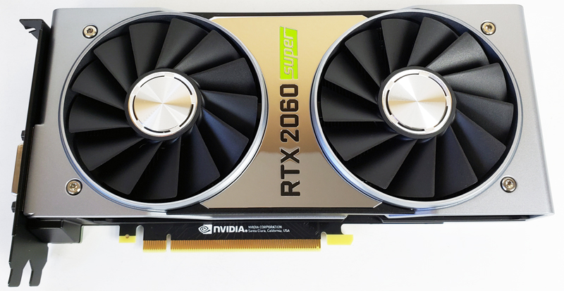 NVIDIA GeForce RTX 2060 Super Review Entry GPU Compute Leader