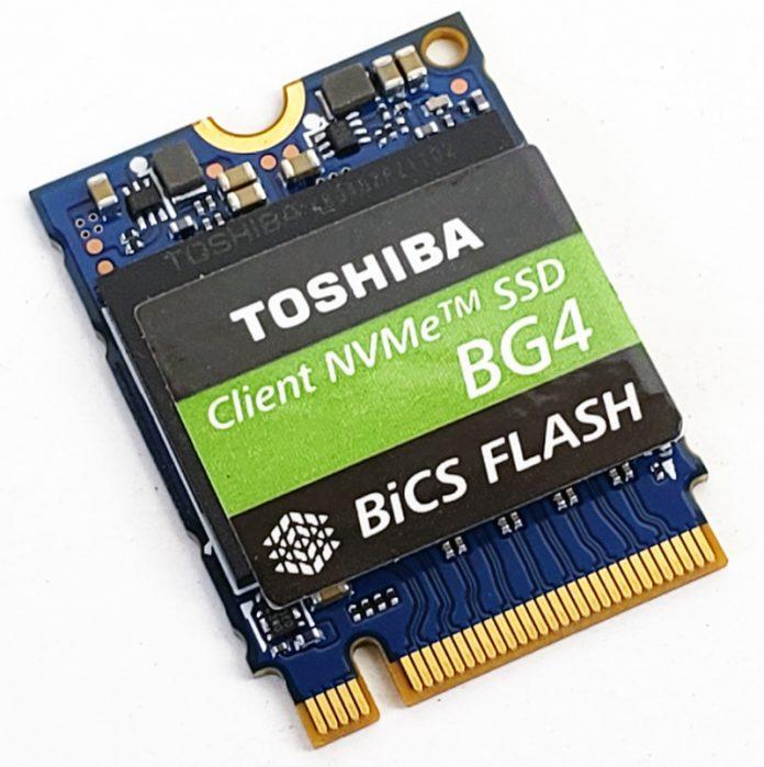 Toshia BG4 M2 2230 30mm NVMe SSD