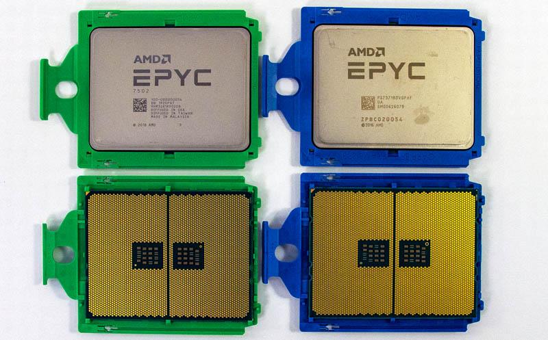 AMD EPYC 7002 And EPYC 7001