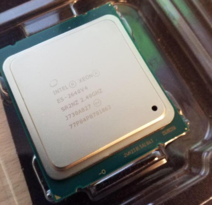 Counterfeit Intel Xeon E5 2640 V4