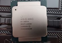 Counterfeit Intel Xeon E5 2683 V4 Closer